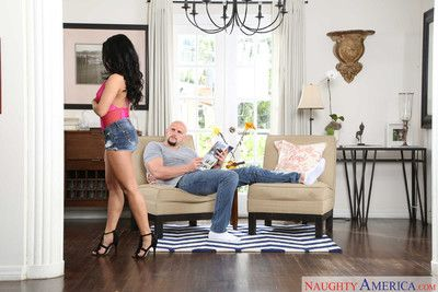Maya mona uses her friends brother for a steamy romp