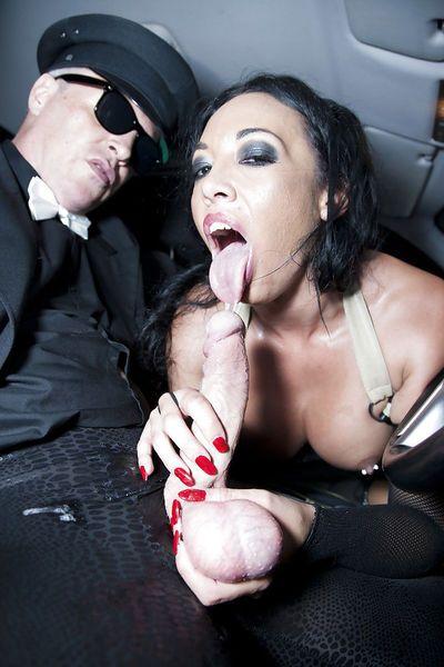 Brunette Latina MILF pornstar Rio Lee taking hardcore fucking from big cock