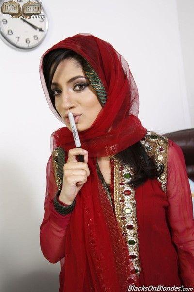 Nadia ali gets gangbanged