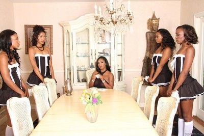 Black sweeties chanell heart and layton benton and their girlfriends are fucking
