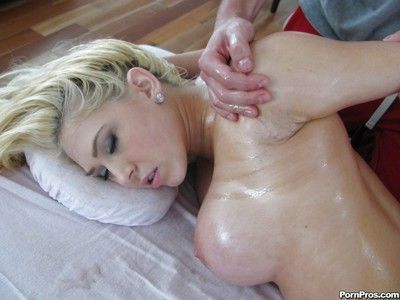 Kagney Lynn Karter having face covered in jizz after massage and rough sex