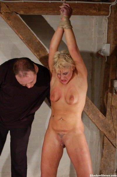 Brutal needle torture of crystel lei in hardcore tit punishment