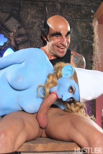 Lexi belle and barry scott in this aint the smurfs xxx