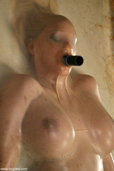 Busty blonde punished in bdsm porn pictures