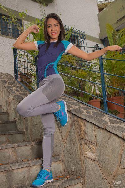 Camila saint in athletic woman