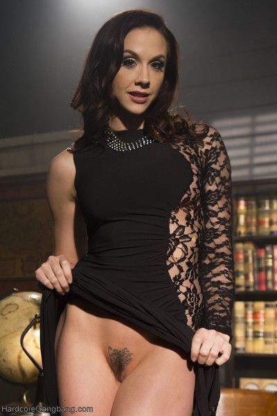 Welcome back the devastating beauty, chanel preston to hardcore gangbang! in thi