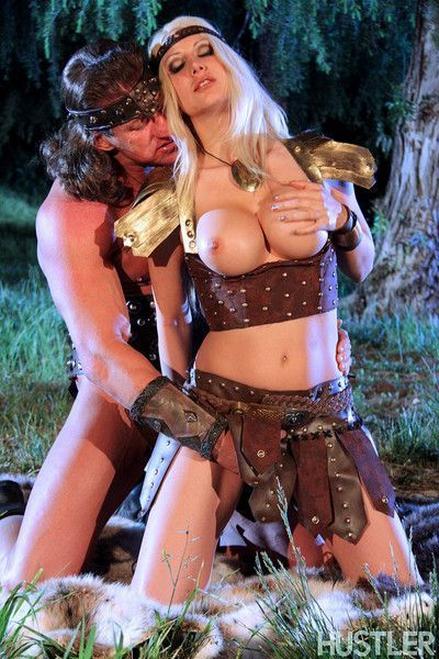 Jazy berlin and lee stone in this aint conan the barbarian xxx