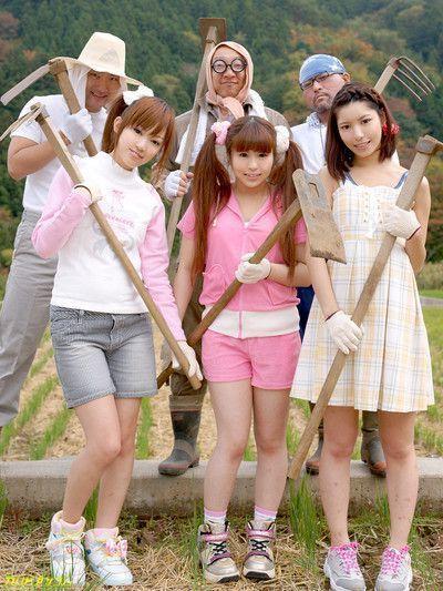 Japanese group bang fuck