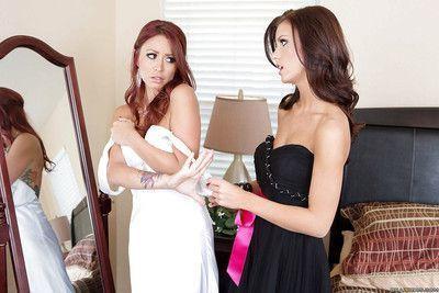 Fantastic lesbian slut Monique Alexander is seduced by Whitney Westgate