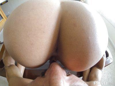 Euro Anissa Kate sucks dick and takes hardcore pussy pounding Gonzo style