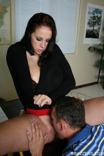 Slutty teacher with big boobs Gianna Michaels gets ass banged