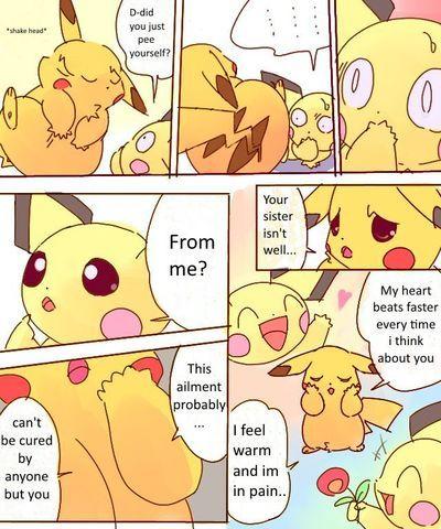 [Dayan] Pikachu Fondle Pichu (English)