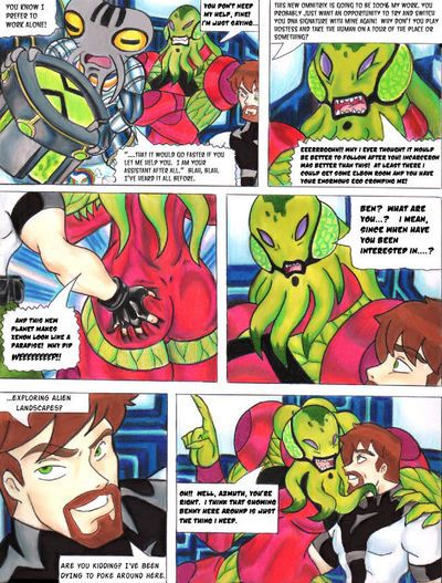 [Taigan] Incomputable Tale (Ben 10) [Full Color]