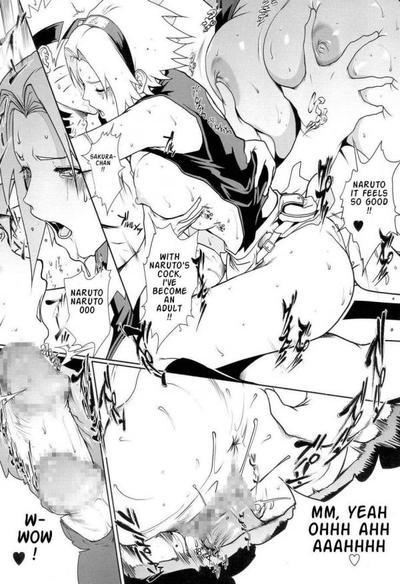 Sakura loves acting apropos porn manga