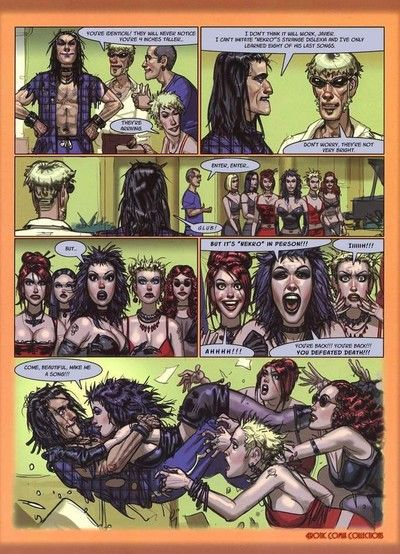 Porn comics almost brutal oral and assfuck scenes